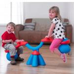 Balansoar Spiro Bouncer-Red/Blue