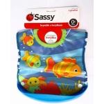 Baveta pestisori cu buzunar colector rigid Sassy