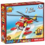 Set de construit elicopter pompieri - Cobi