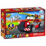 Set de construit vehicul pompieri - Cobi
