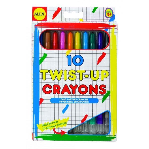 Alex Toys - Creioane Rasuceste si scrie