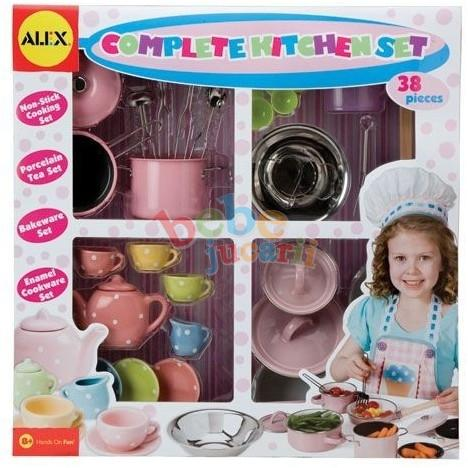 Alex Toys - Set de bucatarie complet