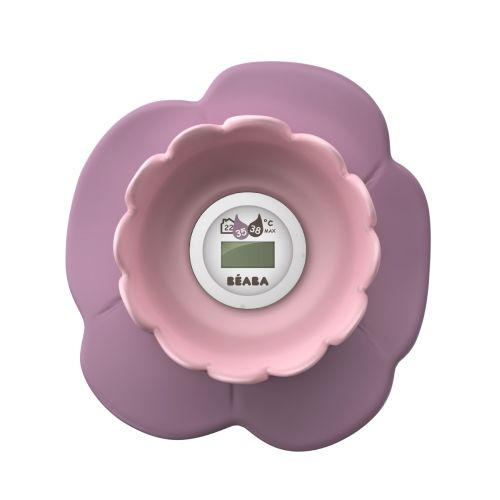 Termometru digital de camera si baie Lotus Roz