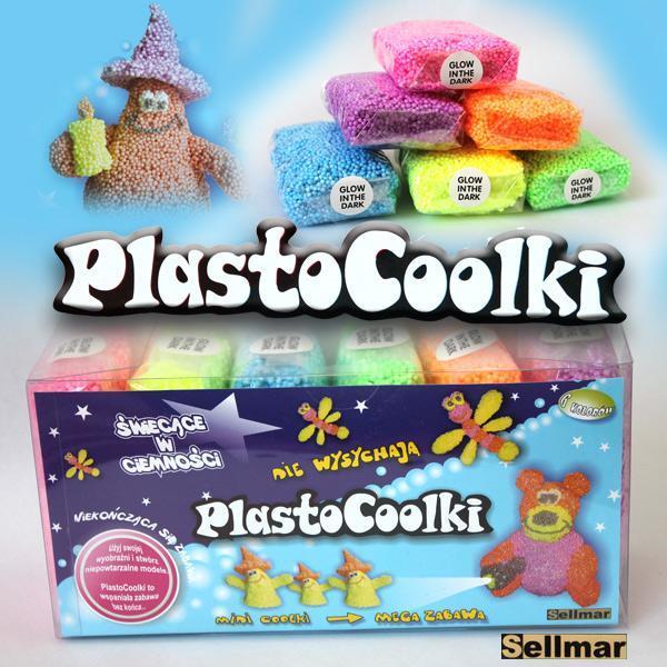 Bilute modelatoare PlastoCoolki Glow Dar