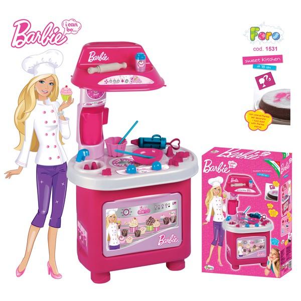 Bucatarie Barbie Cofetaria Vesela Faro