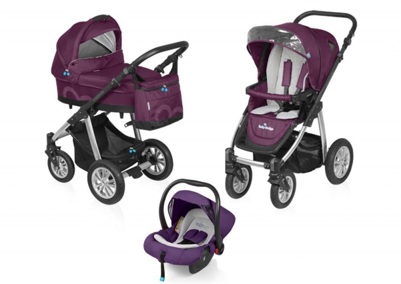 Carucior Multifunctional 3 in 1 Baby Des
