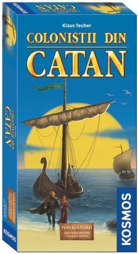 Colonistii din Catan-Navigatorii extensie 56 jucatori