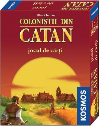 Colonistii din Catan-jocul rapid de carti