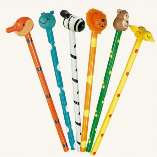 Creioane cu animalute