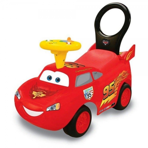 Masinuta Kiddieland Ride on interactiv Fulger Mcqueen