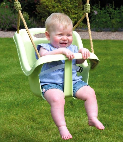 Leagan verde Early Fun Baby