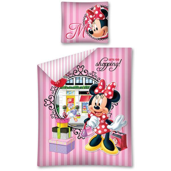 Lenjerie de pat Minnie Mouse 160 x 200cm