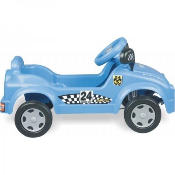 Masina Smart cu pedale albastra