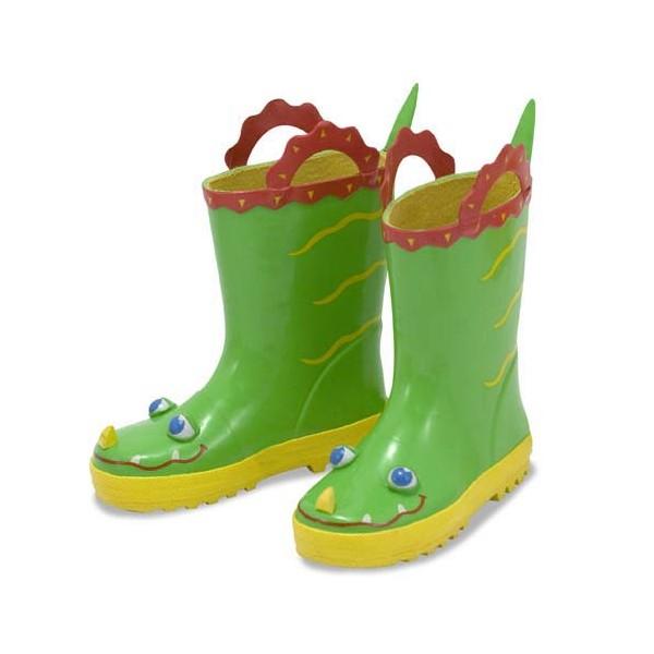 Cizme de ploaie pentru copii Augie Alligator, marime 21-23
