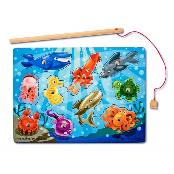 Joc de pescuit magnetic-Animale marine