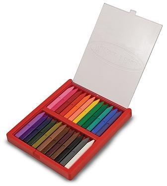 Melissa  Doug - Set 24 creioane colorat
