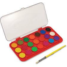 Set acuarele 21 culori
