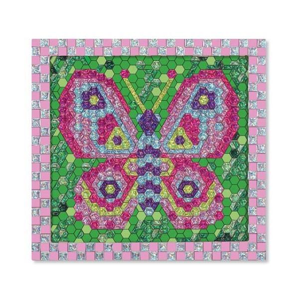 Set de creatie mozaic pe numere Fluture