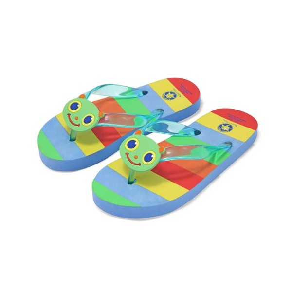 Papuci de baie  plaja copii Happy Giddy, masura 24-25