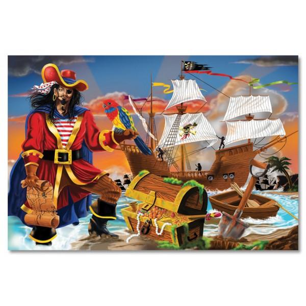 Puzzle de podea Comoara piratilor