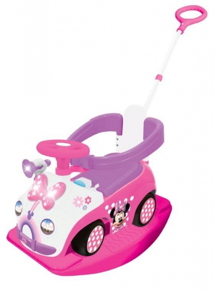 Minnie Sweetie Ride On Interactiv 4 In 1
