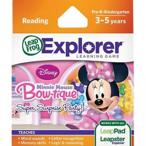 Soft educational LeapPad Disney
