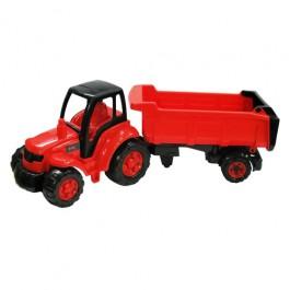 Champion - Tractor cu semiremorca Polesie