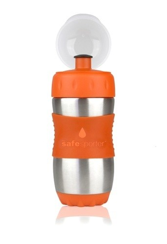 Recipient Safe Sporter 355 ml portocaliu