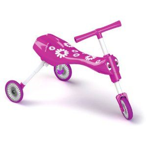 Tricicleta fara pedale Scuttlebug Fleur