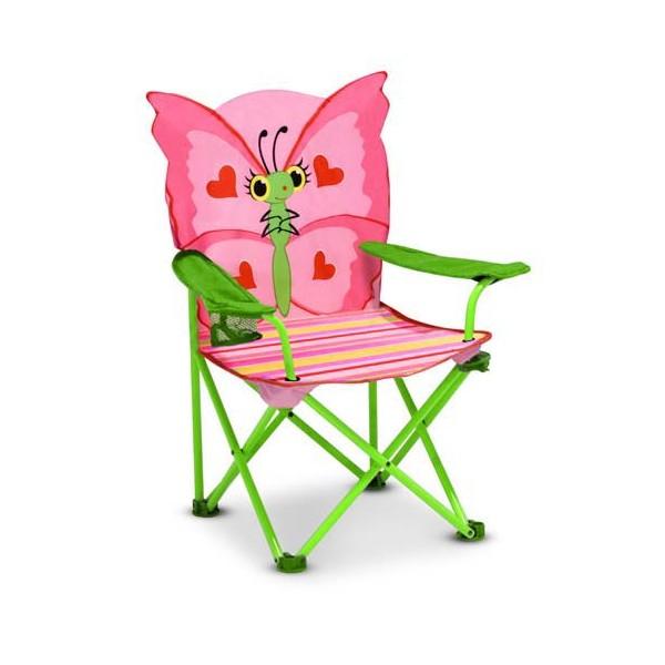 Scaun pliabil pentru copii Bella Butterf