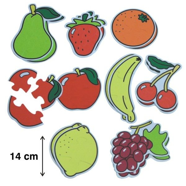 Set 6 puzzle tematice Fructele