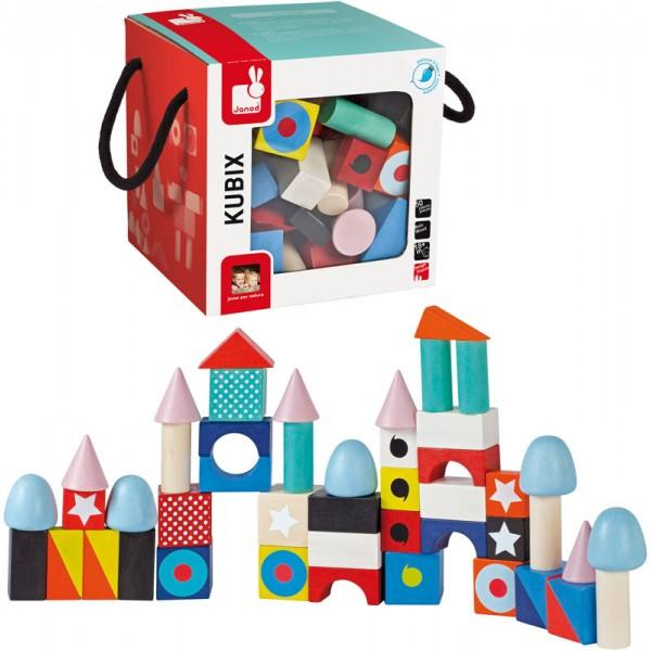 Set cuburi Maxi - Kubix (50 cuburi) (J08