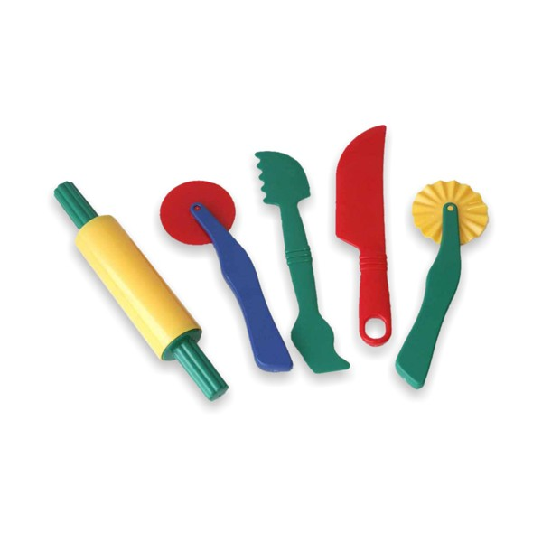 Set de accesorii pentru modelaj cu plastelina