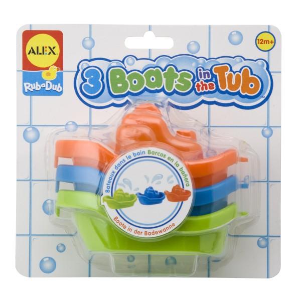 Set de barcute pentru baie, Alex Toys