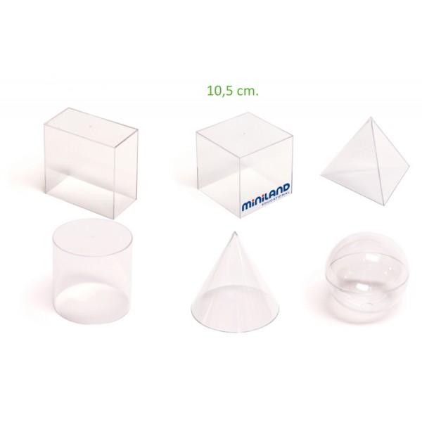 Set didactic de 6 corpuri geometrice