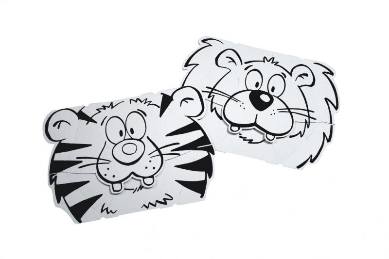 Set masti animate - Leu  Tigru