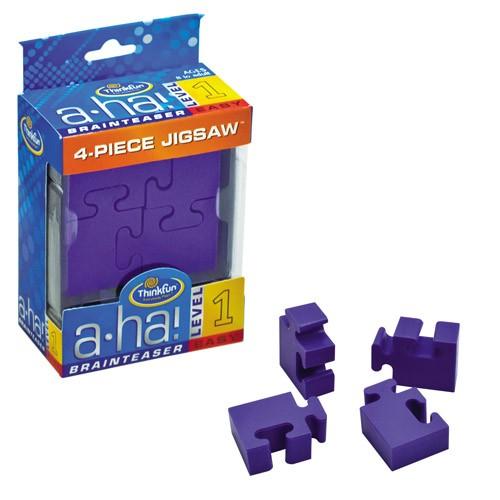 A-HA 4 Piece Jigsaw - joc logic
