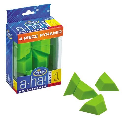 A-HA 4 Piece Pyramid - joc logic