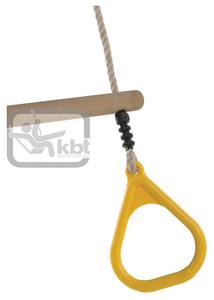 KBT Trapez din lemn cu inele din plastic – P
