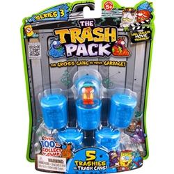 Trash Pack 3 - 5 Figurine pe Blister