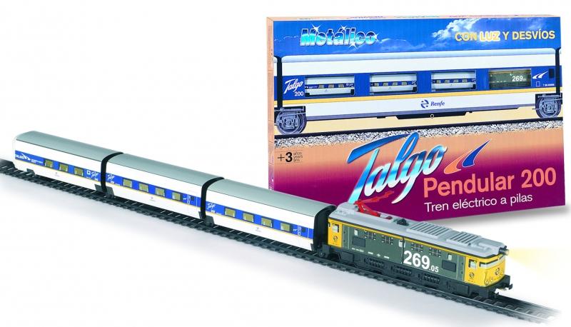 Trenulet electric calatori Talgo Pendula