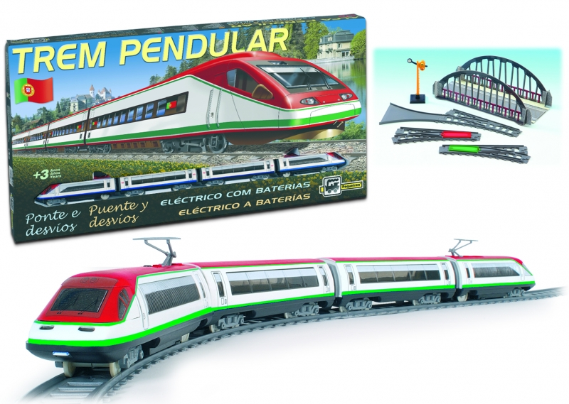 Trenulet electric pasageri Trem Pendular