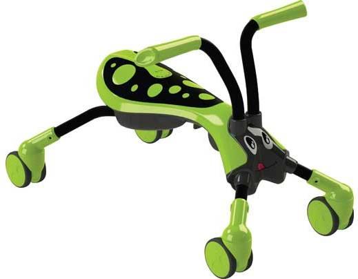 Tricicleta pliabila fara pedale Scramblebug GreenBlack