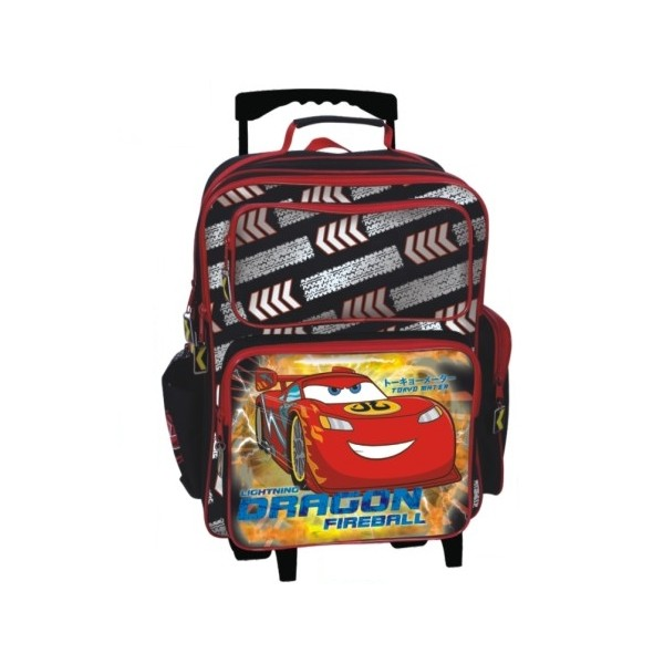 Troler copii Cars McQueen Dragon Firebal