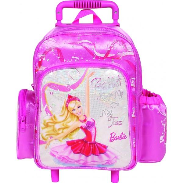 Troler gradinita Barbie in the pink shoe
