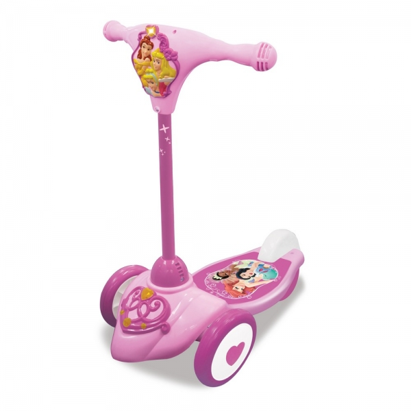 Trotineta Princess interactiva Kiddielan