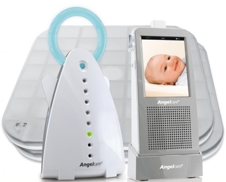 Videofon digital bidirectional si monitor de respiratie Angelcare