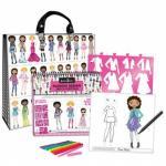 Geanta portofoliu artist fashion design