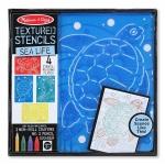 Set de sabloane texturate Animale marine