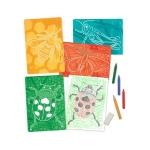 Set de sabloane texturate Insecte